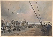 Deck of Great Eastern, Aft: the Paying-out Machinery