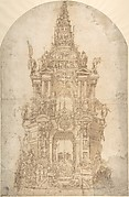 Design for the Catafalque of a Prince