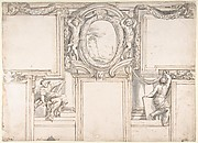 Design for a Painted Wall Decoration