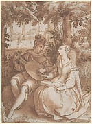 Spring, Drawing for Engraving of the Same Subject