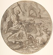 Neptune in his Chariot