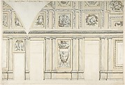 Design for the Interior of a Gallery of a Palace