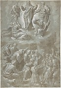 The Transfiguration, after Raphael