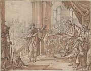 Saint John the Baptist Appearing Before Herod