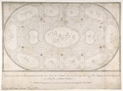 Ceiling of Ballroom decorated for the Marriage of the King of Naples to the Archduchess of Austria