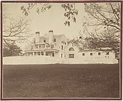 Exterior View of Ernest Flagg's House, Dongan Hills, S. I.
