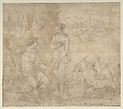 Apollo and Galatea in a Landscape with Neptune and Three Nymphs
