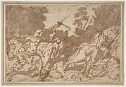 Battle Scene (Samson Slaying the Philistines ?)