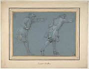 Study of Two Soldiers Swordfighting
