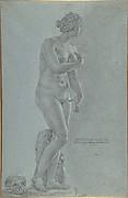 Venus de' Medici; view from the front