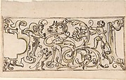 Grotesque Ornament Drawing