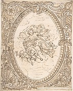 Design for a Ceiling with the Allegory of Dawn