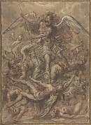 Saint Michael Expelling the Fallen Angels