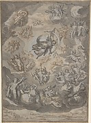 Flying Putti, Surrounding Archangel Raphael