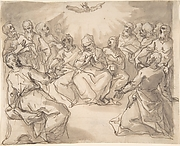 The Descent of the Holy Ghost