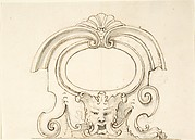 Cartouche with a Mask