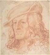 Portrait of a man, bust-length, wearing a hat