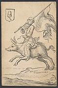 Acorn Knave: A Man Astride a Swine
