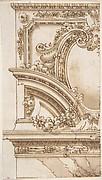 Designs for an Overdoor Decoration (recto);  Various Sketches (verso)