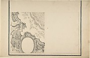 Design for 1/4 of a Ceiling, and Ornamentation of a Section of a Vault