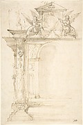 Design for a Tomb or Altar