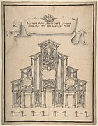 Decoration for the Façade of a Church for the Funeral of Joseph I, 1711