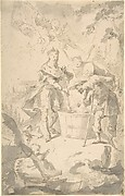 Saint Wenceslas at the Vintage, Attended by Angels and Putti