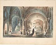Design for a Stage Set: Crypt Scene