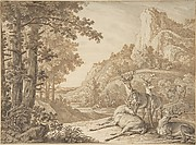Stags in a Landscape