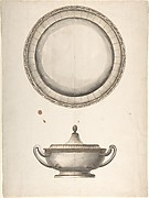Covered Dish with Tray