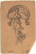 Study of a Classical Female Figure (Night)