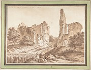 Ruins of the Château of Becoiseau, near Mortcerf (seine-et-Marne)