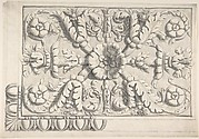 Classical Ceiling Moldings with Floral Ornament