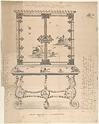 Design for a Chinese-style Lacquer Cabinet