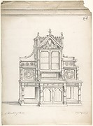 Design for Gothic Sideboard
