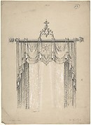 Design for Gothic Curtains and Curtain Rod