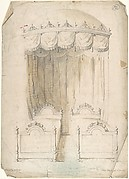 Design for Twin Beds with a Canopy
