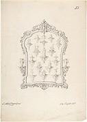 Design for a Frame and Sketches of Wall Displays