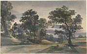 A Parkland View at Dusk
