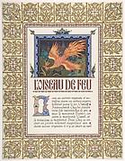 Title Page: L'oiseau de Feu et d'autres contes populaires Russes