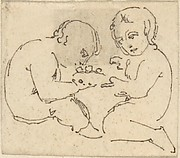 Sketch of Two Children