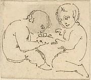 Sketch of Two Children