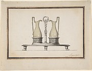 Design for a Cruet Frame