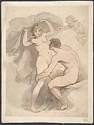 Venus, Anchises and Cupid