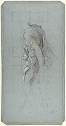 Standing Soldier:  Study for the chapel of Saints Peter and Paul in the church of  Saint-Séverin, Paris