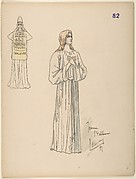 Joan of Arc; costume design for Jeanne d'Arc by the Paris Opera Company, 1897