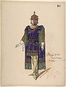 Philip the Good, Duke of Burgundy; costume design for Jeanne d'Arc by the Paris Opera