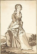 Portrait of Charlotte Corday