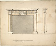 Designs for a Chimney-piece for Richard Barwell's Drawing Room at Esher, Surrey