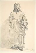 Standing Peasant Girl